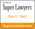 Super Lawyer Sara K. Ward